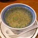 焼とり 源や - とりスープ