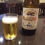 中華料理 菜香菜 - 瓶ビールと料理一品で680円