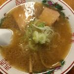 北方らーめん - 1/2ラーメン 550円