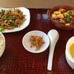 大明担担麺 - 料理写真:定食