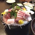 海鮮料理 沖菜 - 刺身盛り合わせ