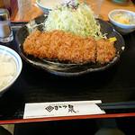 35114676 - 宝山豚ロースかつ定食(中)