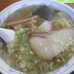 大沼食堂 - 中華そば550円。