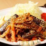 黒豚ピリ辛味噌炒め御膳+ビュッフェ