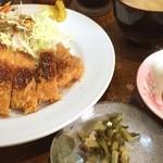 洋食 キムラヤ - 日替りとんかつ
