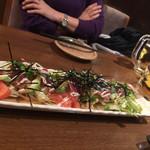 串工房 とりあえず - アボカドとマグロのサラダ