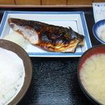 乃んき食堂 - サバ塩焼き定食