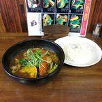 35118012 - チキンスープカレー(オリジナルスープ、ライス普通、ライス普通、980円)
