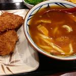 丸亀製麺 - Wカツカレーうどん (2015.02現在)
