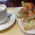 ドトールコーヒーショップ - ミラノサンドBのエビアボガト