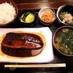 志乃ぶ - 志乃ぶ @代々木 ランチ さば味噌 900円