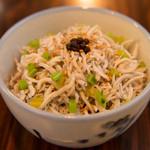 AFURI - しらすと実山椒の大根葉飯