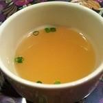 カレーの店 マヤ - 日替わりセット\850 スープ