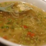 ワールド チャイニーズ キッチン ルーラン - アサリネギスープ