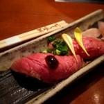 35127122 - 飛騨牛握り寿司