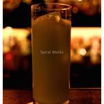 中村堂 - 「金沢カクテル」… 抹茶を使ったカクテルでした(2008.11)