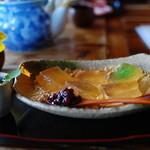 昇福亭 - こがしきな粉のわらび餅