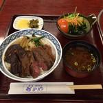 35127681 - スペシャルステーキ丼