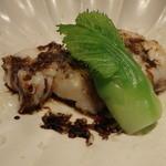 蕎麦割烹  倉田 - 鮟鱇 吉田牧場のカッチョカバロ バルサミコのソース