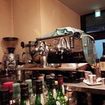 cafe+bar Leandro - エスプレッソマシーン