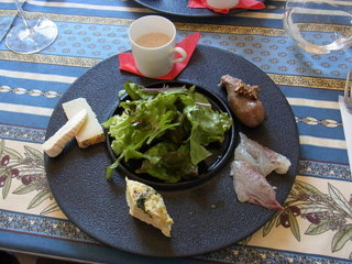 オステリア ポルタロッサ - 2300円のランチコースの前菜