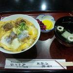 鳥かど家 - うな玉丼(1,300円)