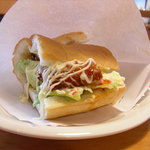 バランス ダイナー - フライドケイジャンのホットサンドイッチ★