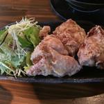 RA-MEN 赤影 - (2015.2)若鶏唐揚 300円