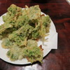 しま膳 - 料理写真:'15.02.13(金) 17:30 アーサーの天婦羅(650円)
