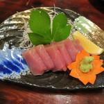 しま膳 - '15.02.13(金) 17:30 近海マグロ あっさりしていて美味しい!!