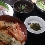 魚王KUNI - 車海老丼 980円