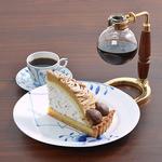 椿屋珈琲店 - ケーキセット
