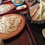 そば家 和味 - 旬の野菜天ぷら付せいろ(1,280円)★★★★★