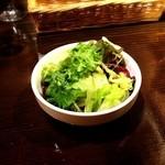 ビストロ  アン・ココット - 2014.12最初に出てくるサラダ