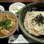 饂飩とお酒 からほり きぬ川 - カレー丼定食(H27.2.13)