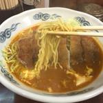 五十番 - 201502 昔ながらの中華料理屋っぽい縮れ細麺
