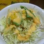 グレイト・カルカッタ - セットのサラダ