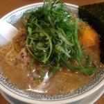 丸源ラーメン - ねぎ肉そば 842円