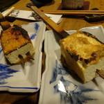 35146012 - 豆腐田楽(味噌を変えて)