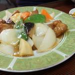 中華・ラーメン 福留 - 酢豚