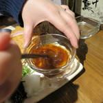 くんち - 2015.2芳寿豚の極上ロースとんかつ特製黄身おろしポン酢