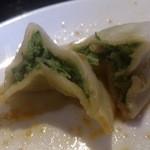 聚中縁餃子 - ・紅油水餃と炒飯セット 900円