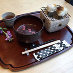 廚菓子くろぎ - おぜんざい(1100円税込)