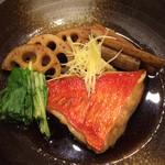 お酒菜やさん - 金目鯛の煮付(¥780)