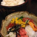 浜鮨 - スタミナ丼(1200円)