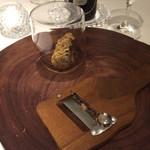 リストランテ サクラ - クリスマスディナー       白トリュフ!!!香り良すぎですからー       この塊で10万以上とか。。。
