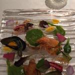 リストランテ サクラ - 新しいシェフのお料理       美しい!