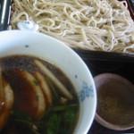 蕎麦処一閑人 - 料理写真:一番人気の鴨せいろ