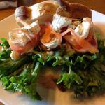 ビッグフォーレスト - 鴨とクリームチーズのサンドイッチ
