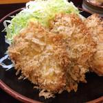 かつ精 - ヒレカツ定食(950円)